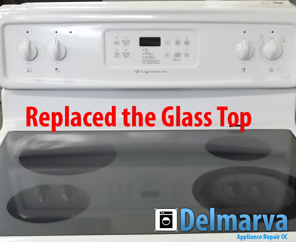 GE Glass Top Range Repaired